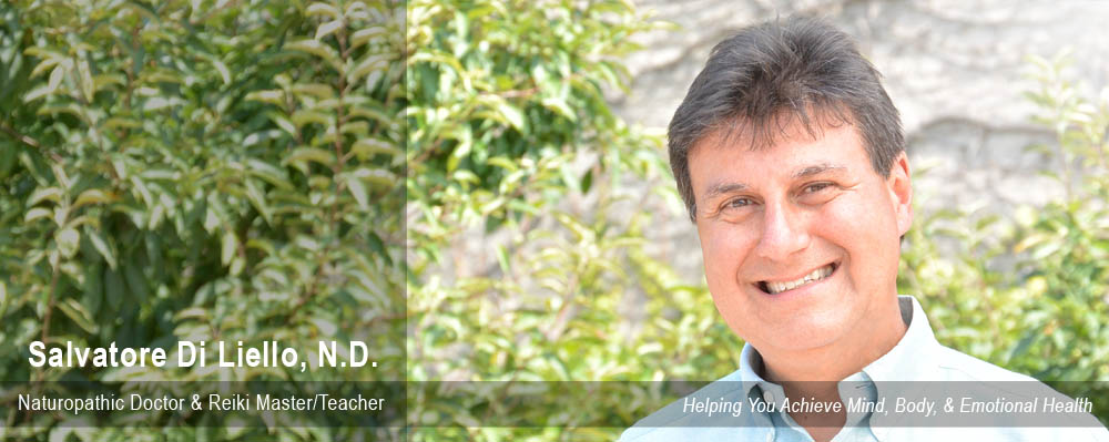 Salvatore Di Liello N.D. - Naturopathic Doctor - Naturale Solutions - Holistic Medicine - Certified Naturopathic Doctor